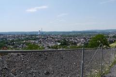 03 Aufstieg Blick auf Kraftwerk Ensdorf