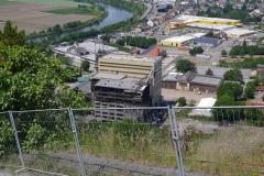 49 Blick vom Saarpolygon (Abstieg steil)