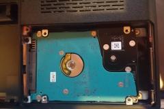 Einbau HDD ueber SSD