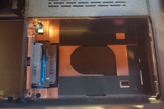 Festplattenfach leer