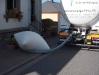 Fahrzeug und Absaugsack